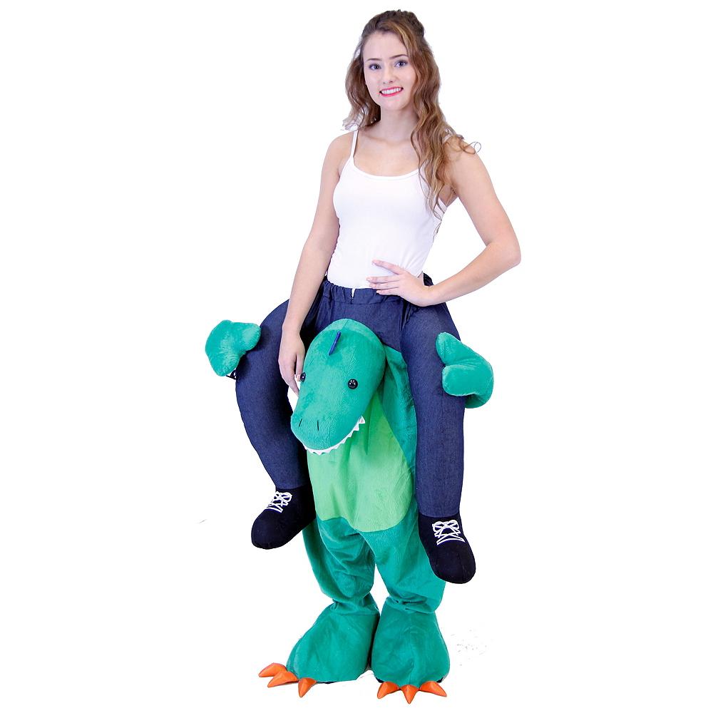 Adult Dinosaur Ride-On Costume Image #1