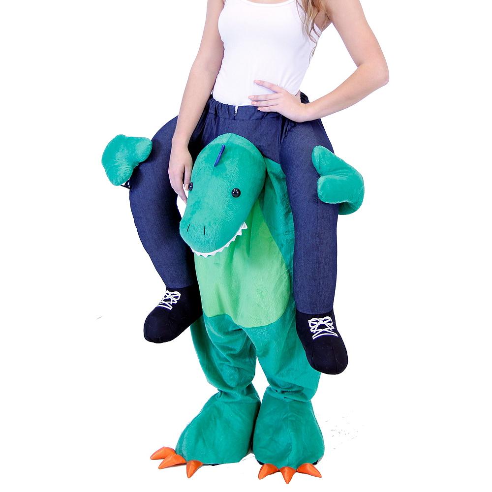 Adult Dinosaur Ride-On Costume Image #2