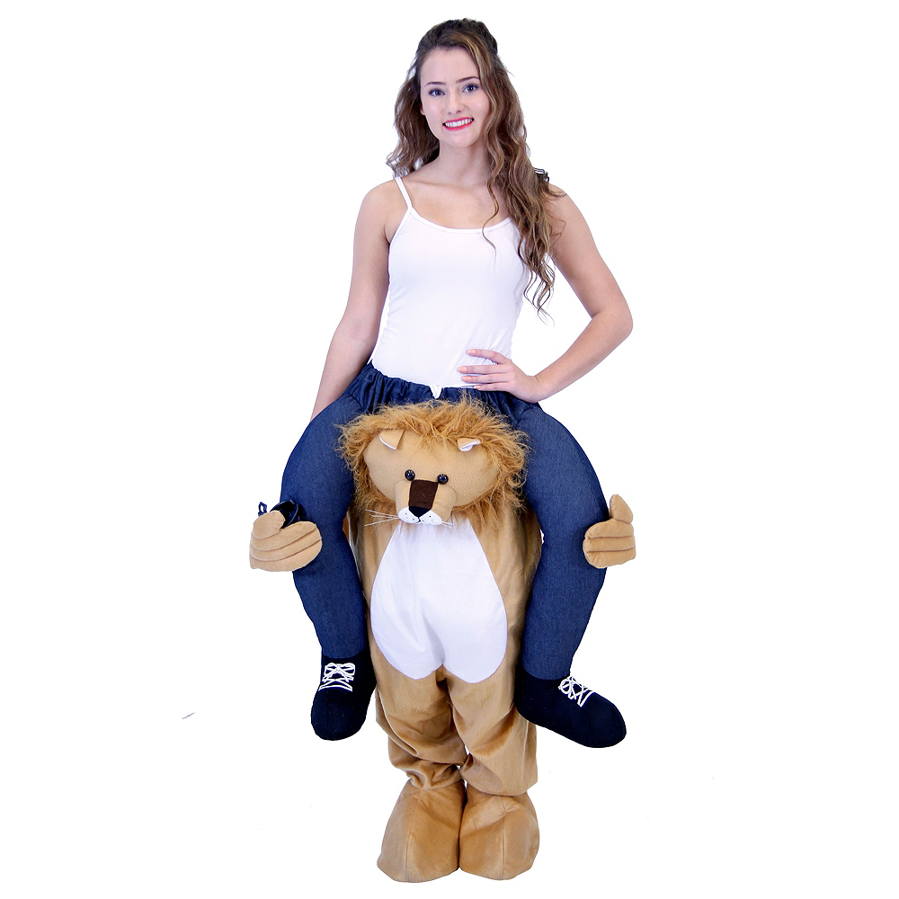 Adult Lion Ride-On Costume Image #1