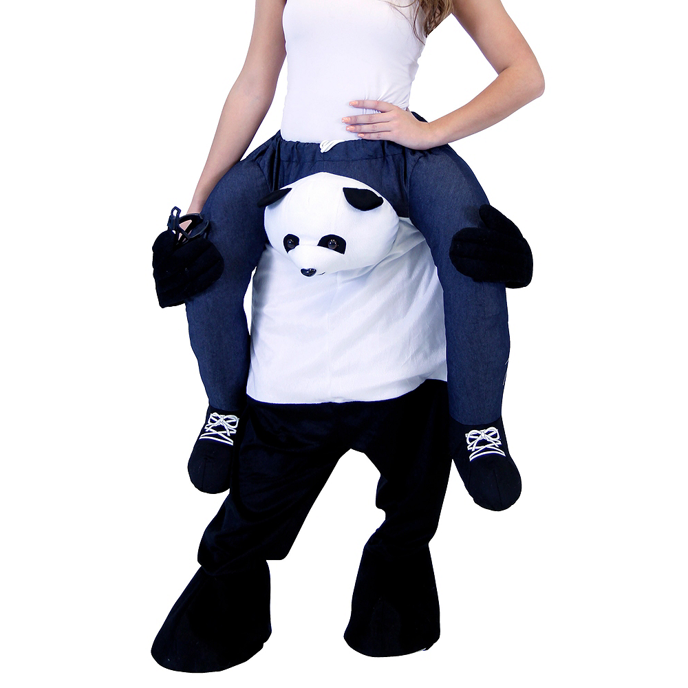 Adult Panda Ride-On Costume Image #2