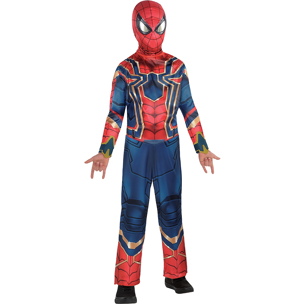 Boys Spider-Man Iron Spider Costume - Avengers Infinity War Image #1