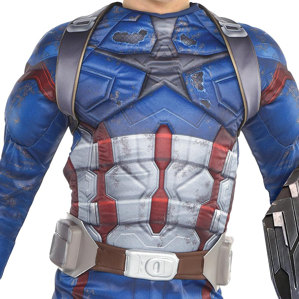 ee9179530 Boys Captain America Costume - Avengers Infinity War