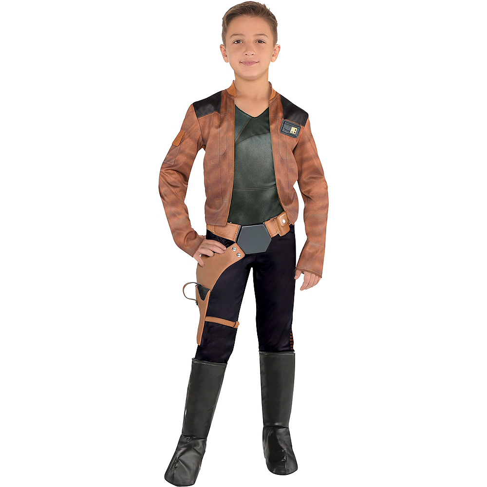 Boys Han Solo Costume - Solo: A Star Wars Story Image #1