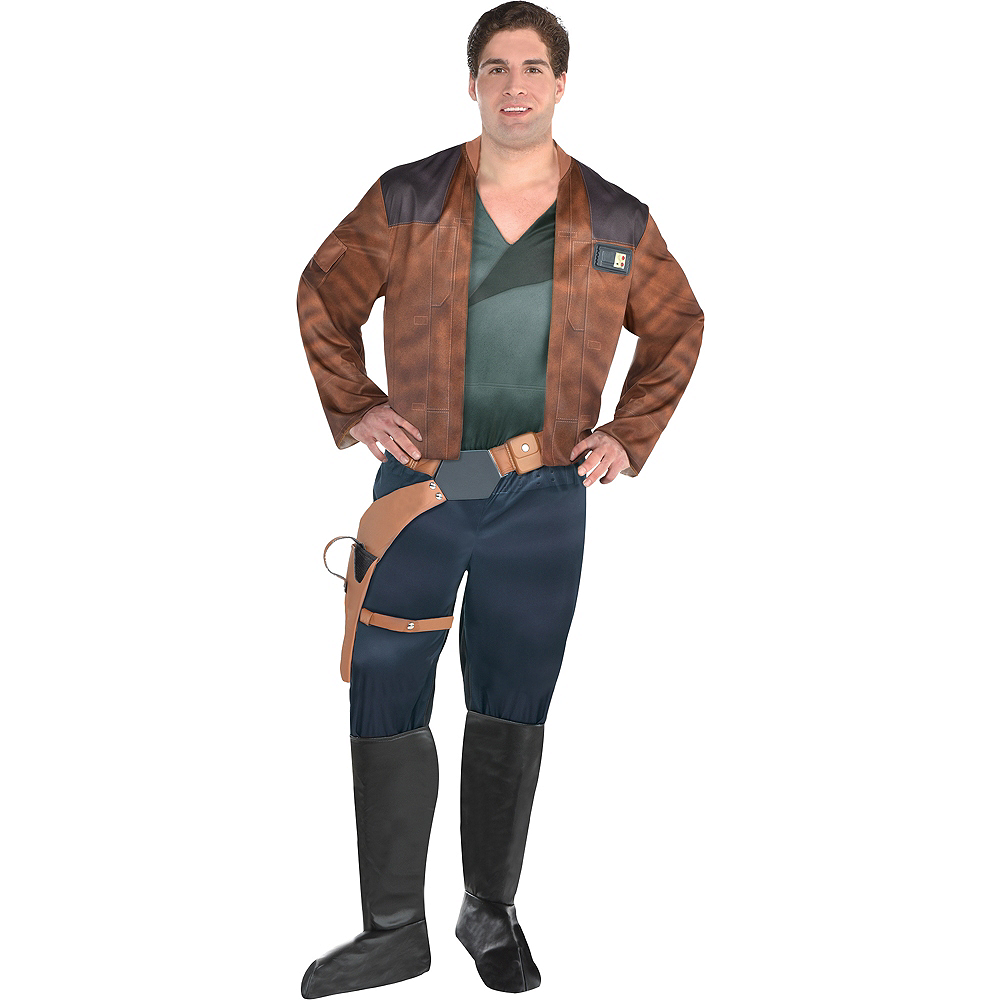 Nav Item for Mens Han Solo Costume Plus Size - Solo: A Star Wars Story Image #1