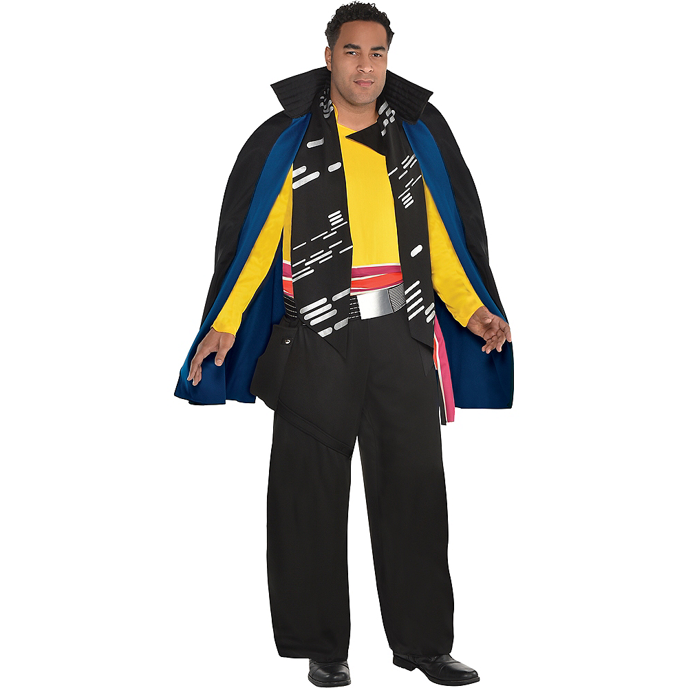 Mens Lando Calrissian Costume Plus Size - Solo: A Star Wars Story Image #1