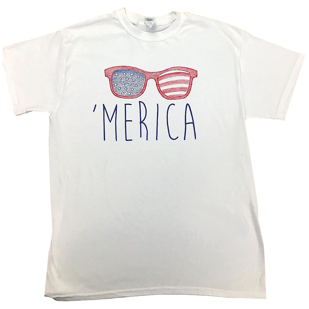 Patriotic 'Merica T-Shirt Image #1