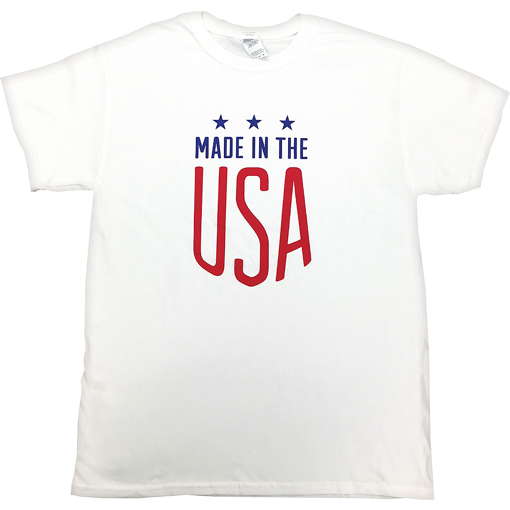 Patriotic Made In The USA T-Shirt Image #1