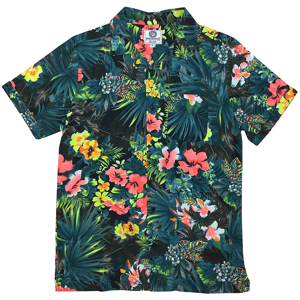 75e83dc8 Floral Hawaiian Shirt | Party City