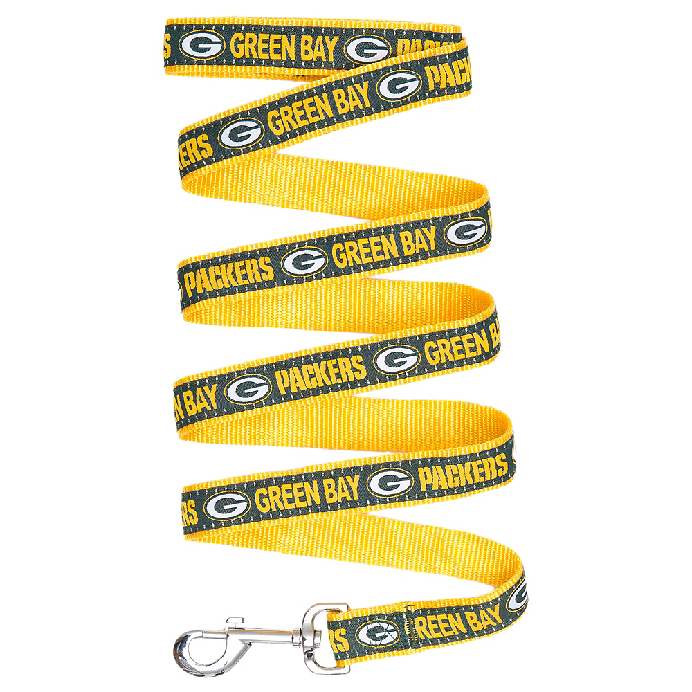 Green Bay Packers Dog Leash Image #1