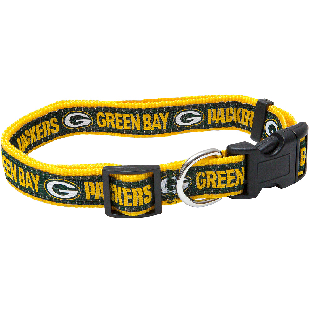 Green Bay Packers Dog Collar Image #1