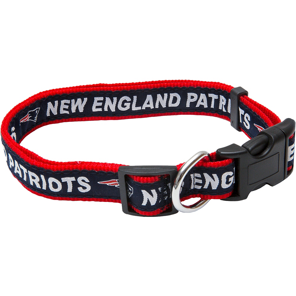 Nav Item for New England Patriots Dog Collar Image #1