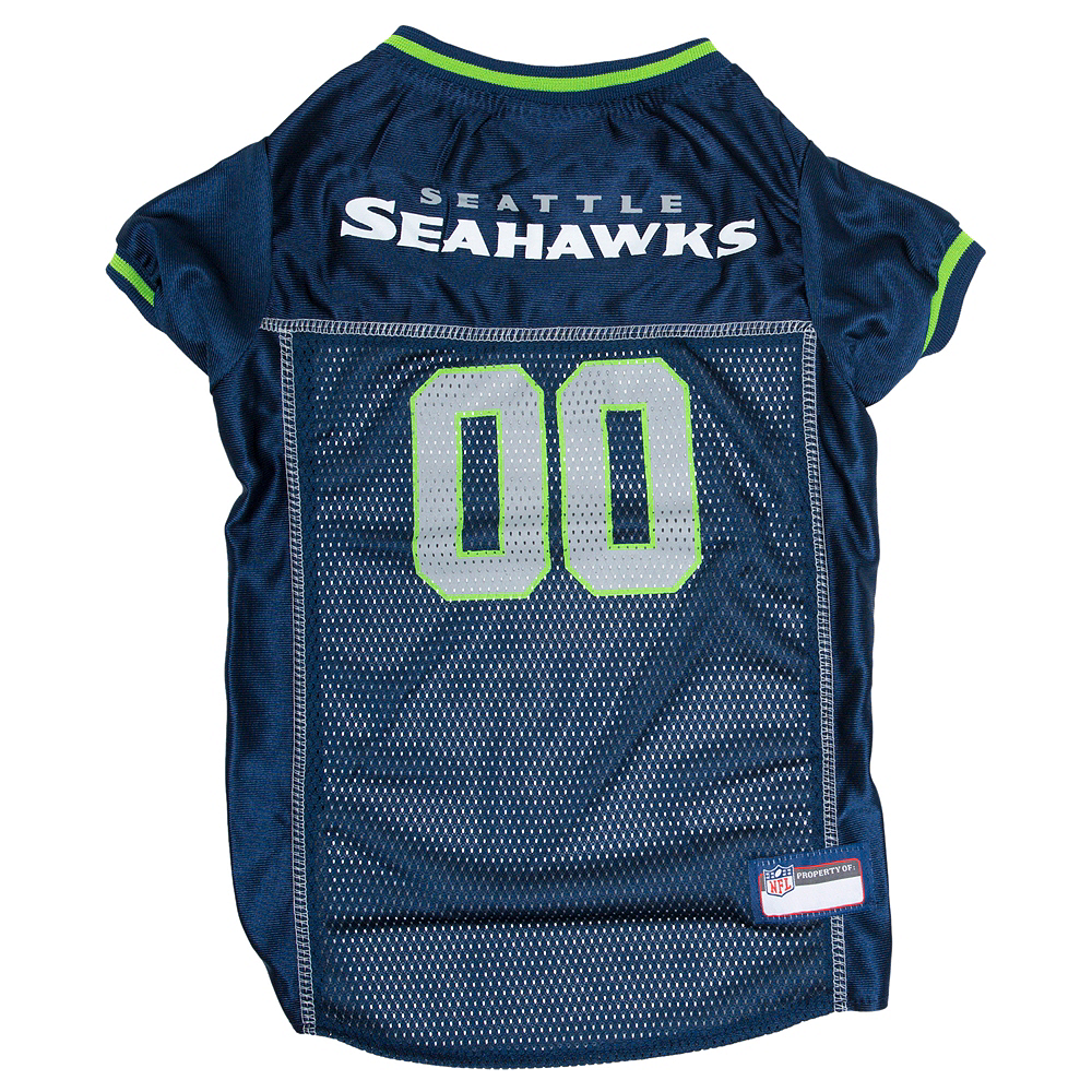 Seattle Seahawks Dog Jersey Image #1