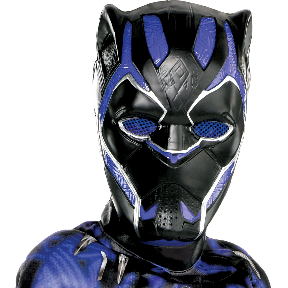 Boys Black Panther Muscle Costume - Black Panther Movie Image #2