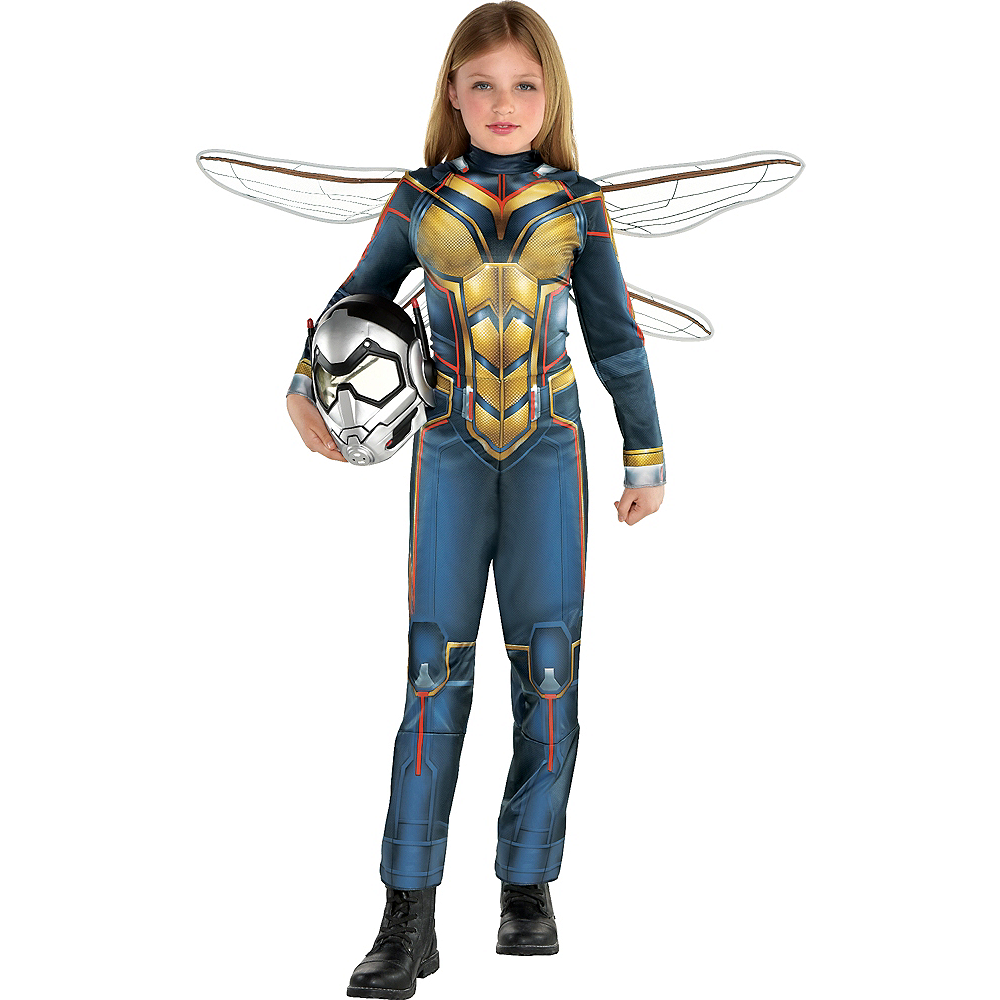 Nav Item for Girls Wasp Costume - Ant-Man and the Wasp Image #1