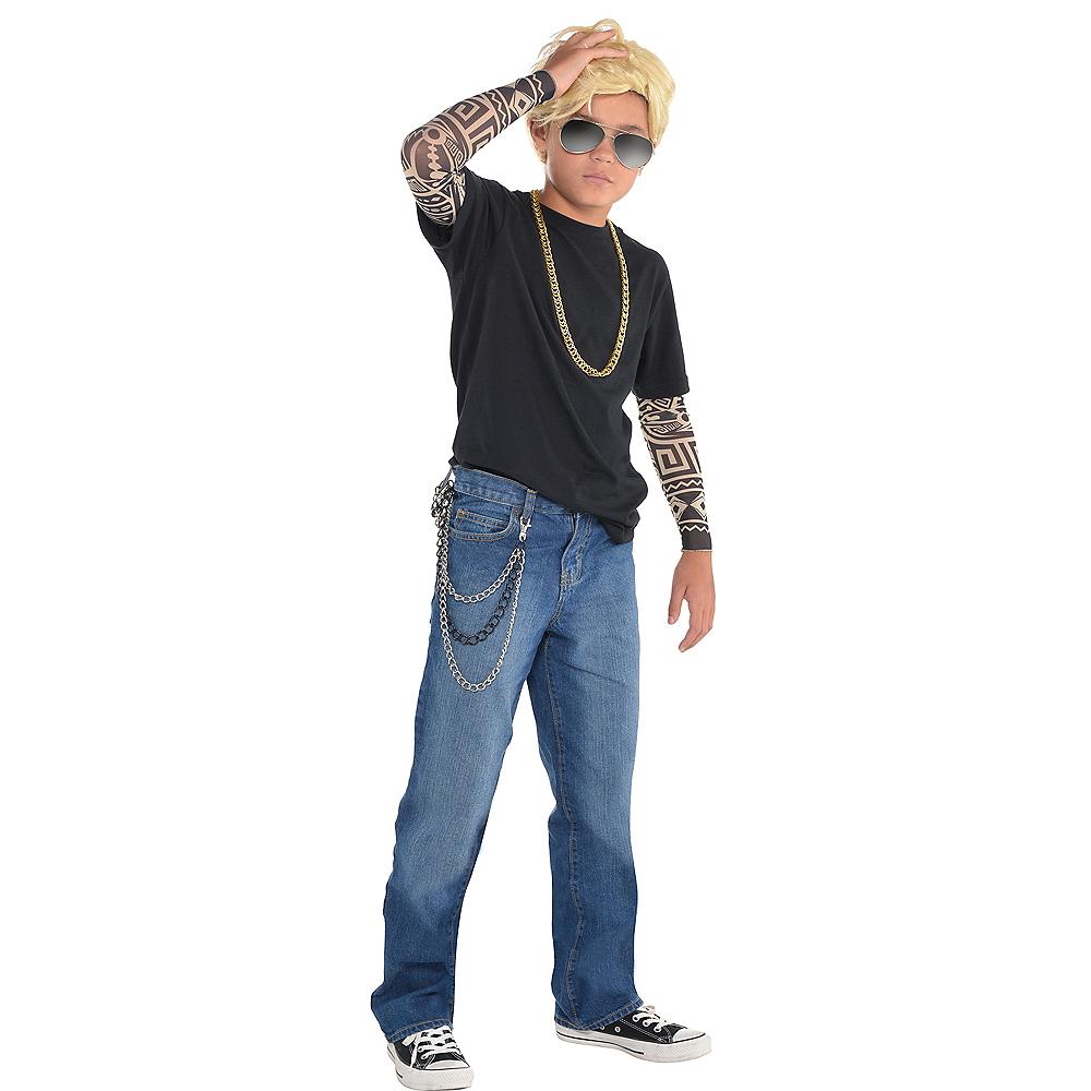 Child Bad Boy Believer Costume Image #1