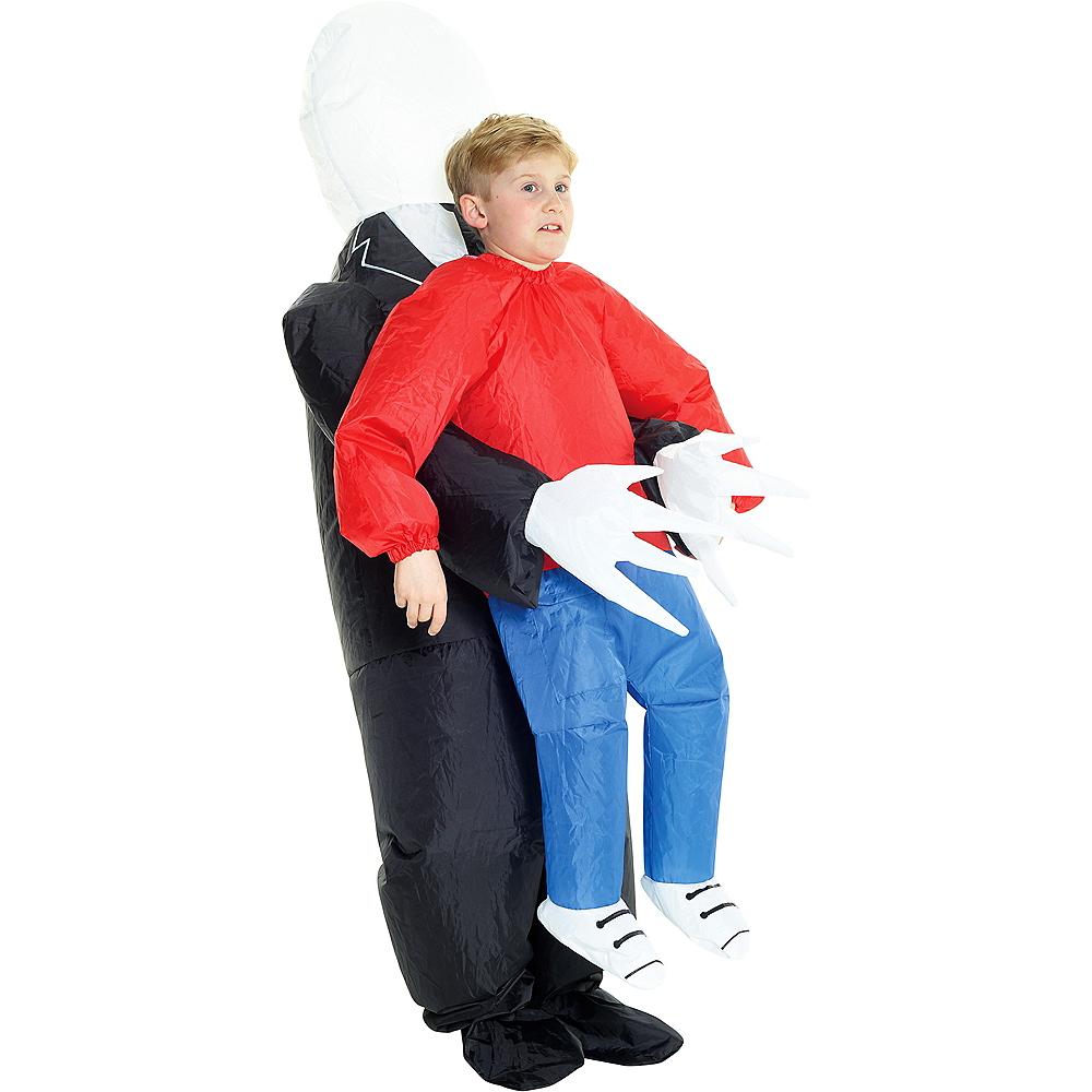 Child Inflatable Slenderman Pick-Me-Up Costume Image #1