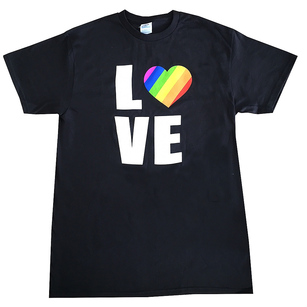 Adult Rainbow Love Shirt Image #1