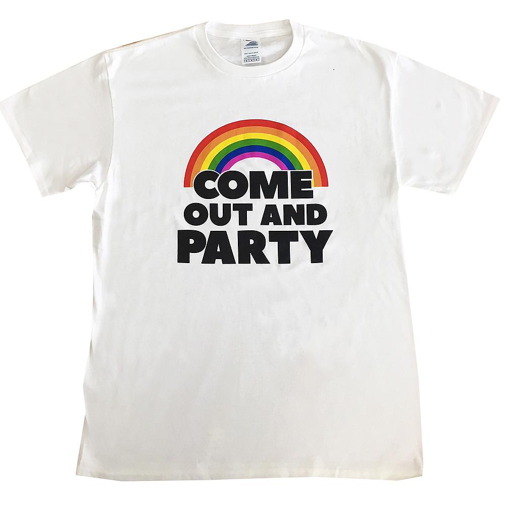Adult Rainbow Party Shirt Image #1