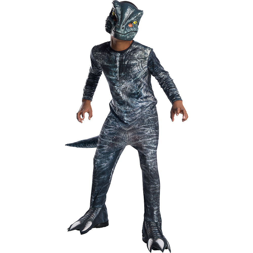 Boys Blue Velociraptor Costume - Jurassic World: Fallen Kingdom Image #1