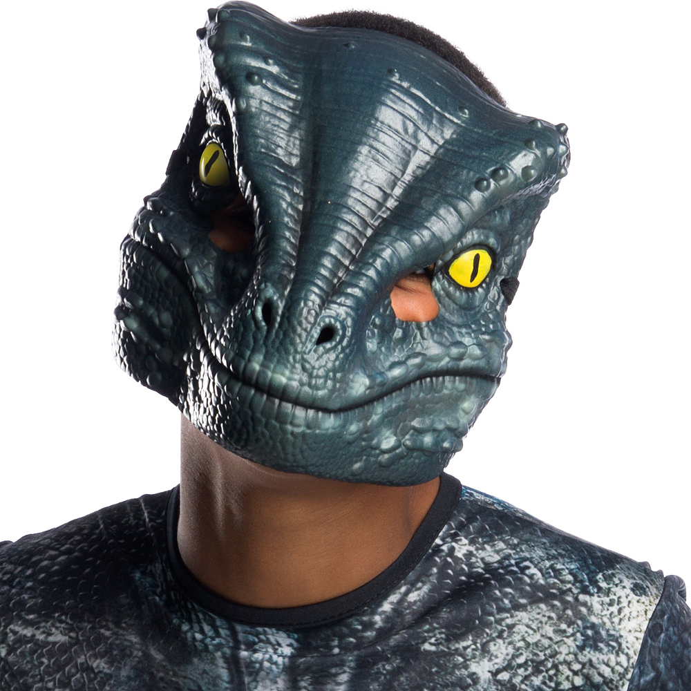 Boys Blue Velociraptor Costume - Jurassic World: Fallen Kingdom Image #2