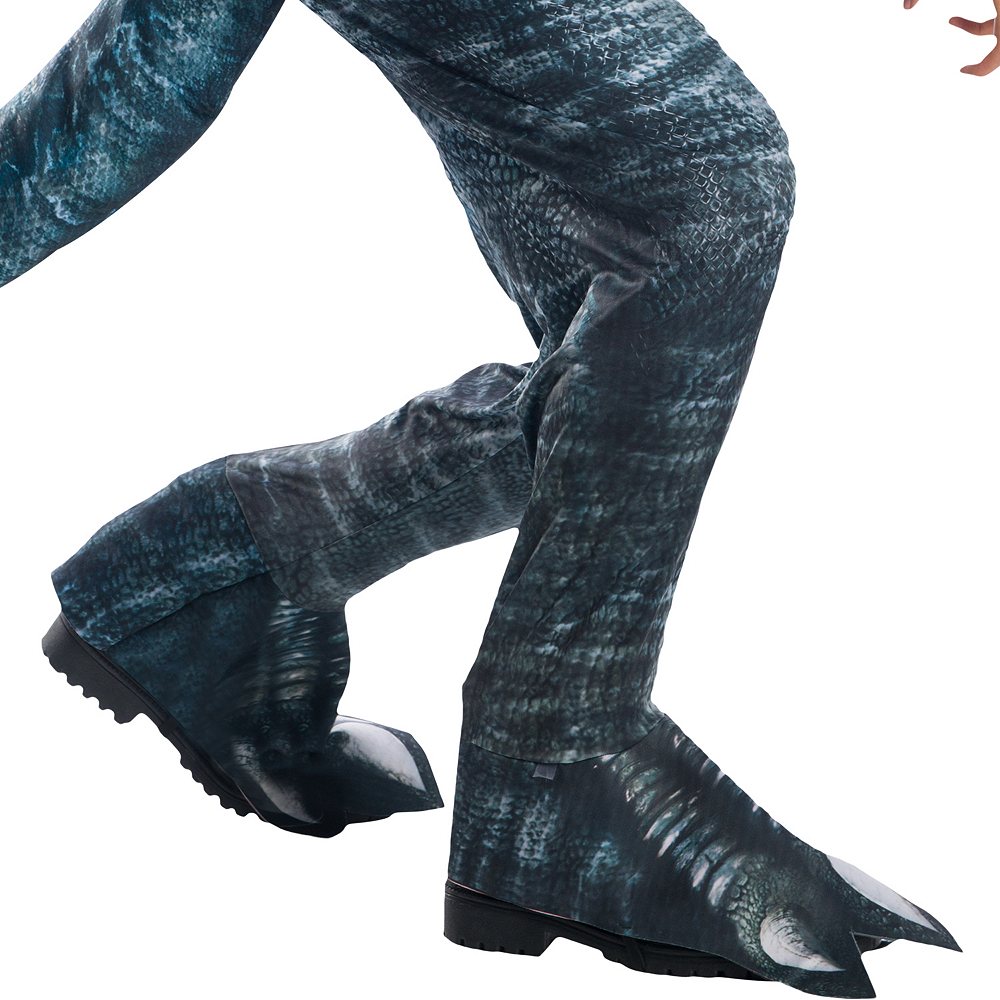 Mens Blue Velociraptor Costume - Jurassic World: Fallen Kingdom Image #3