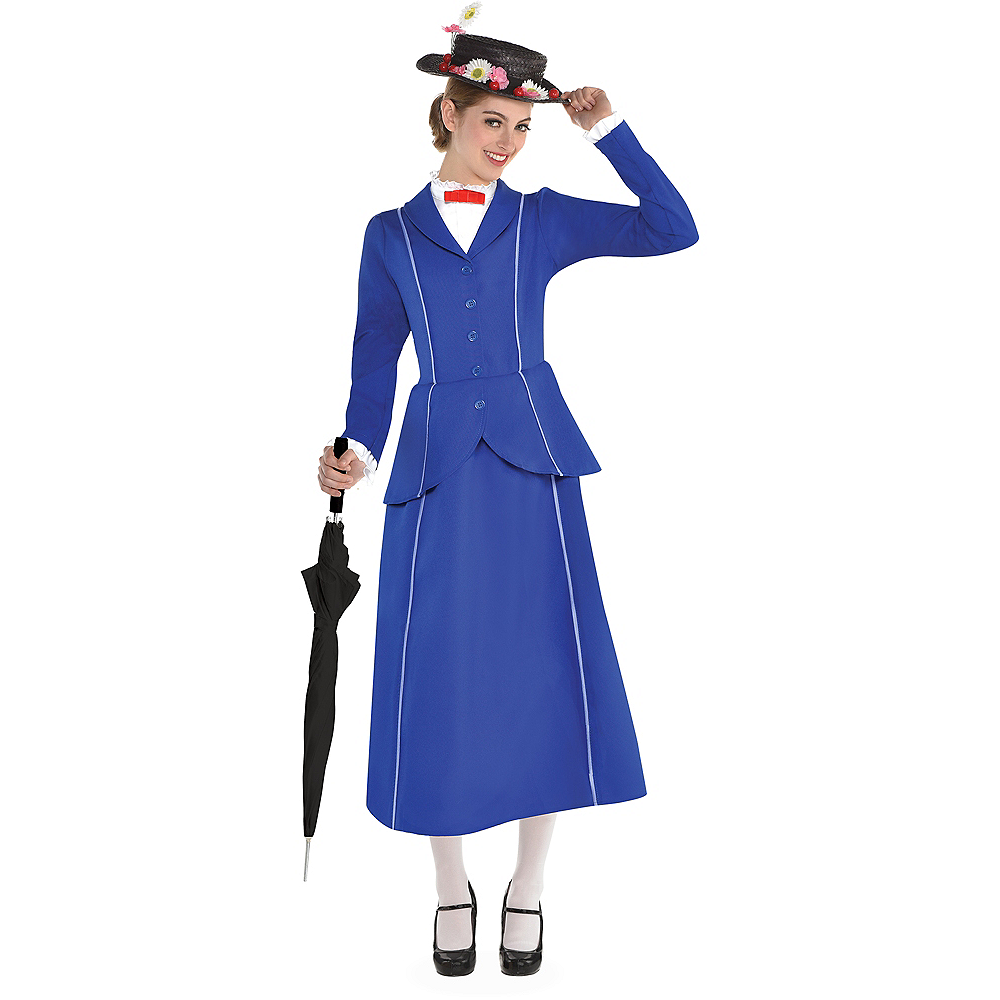 Womens Mary Poppins Costume Image #1