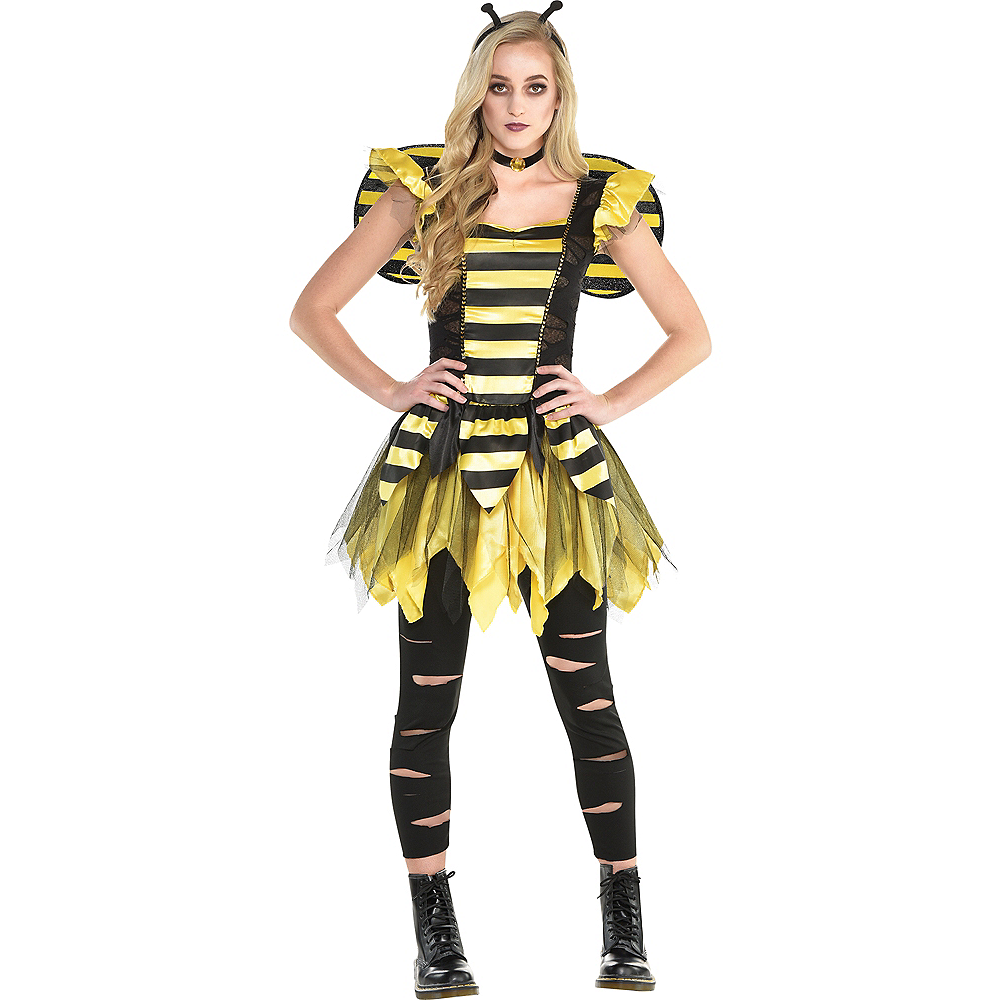 Womens Zom-Bee Costume Image #1
