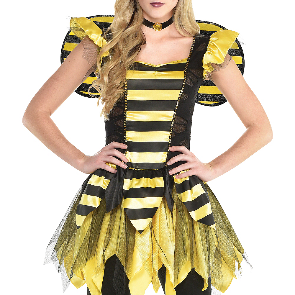 Nav Item for Womens Zom-Bee Costume Image #4