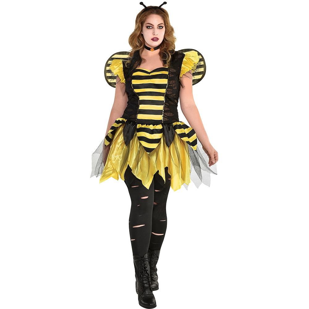 Womens Zom-Bee Costume Plus Size