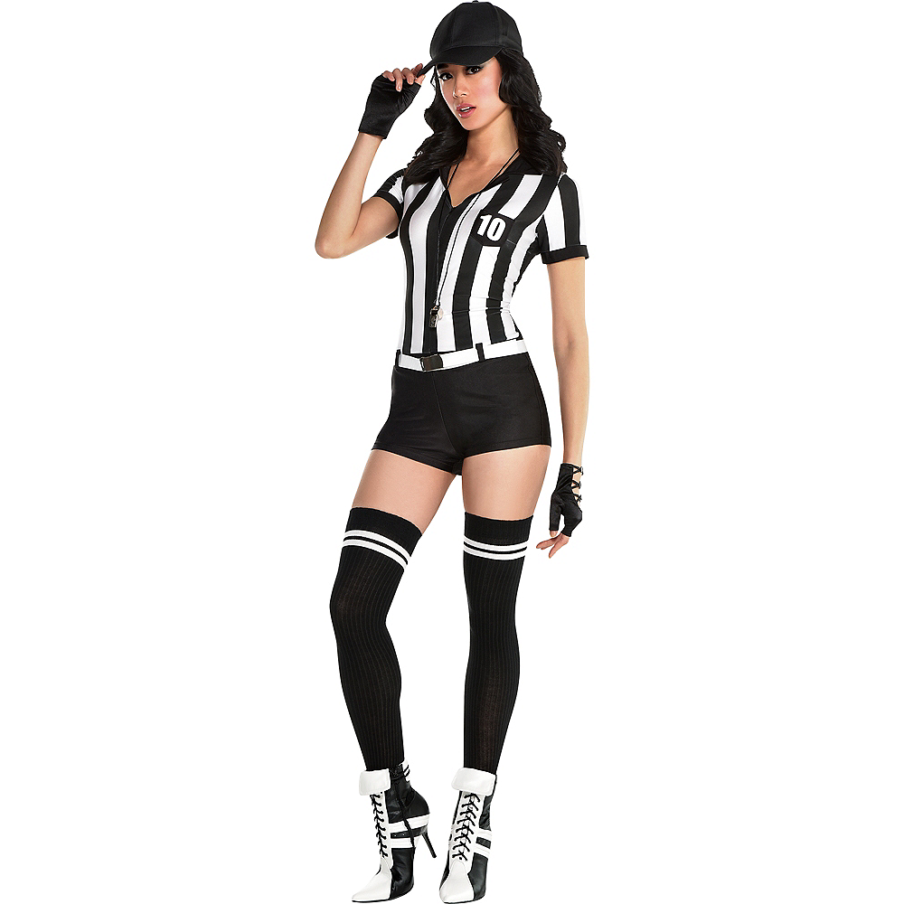 Womens Sexy Umpire Costume Image #1