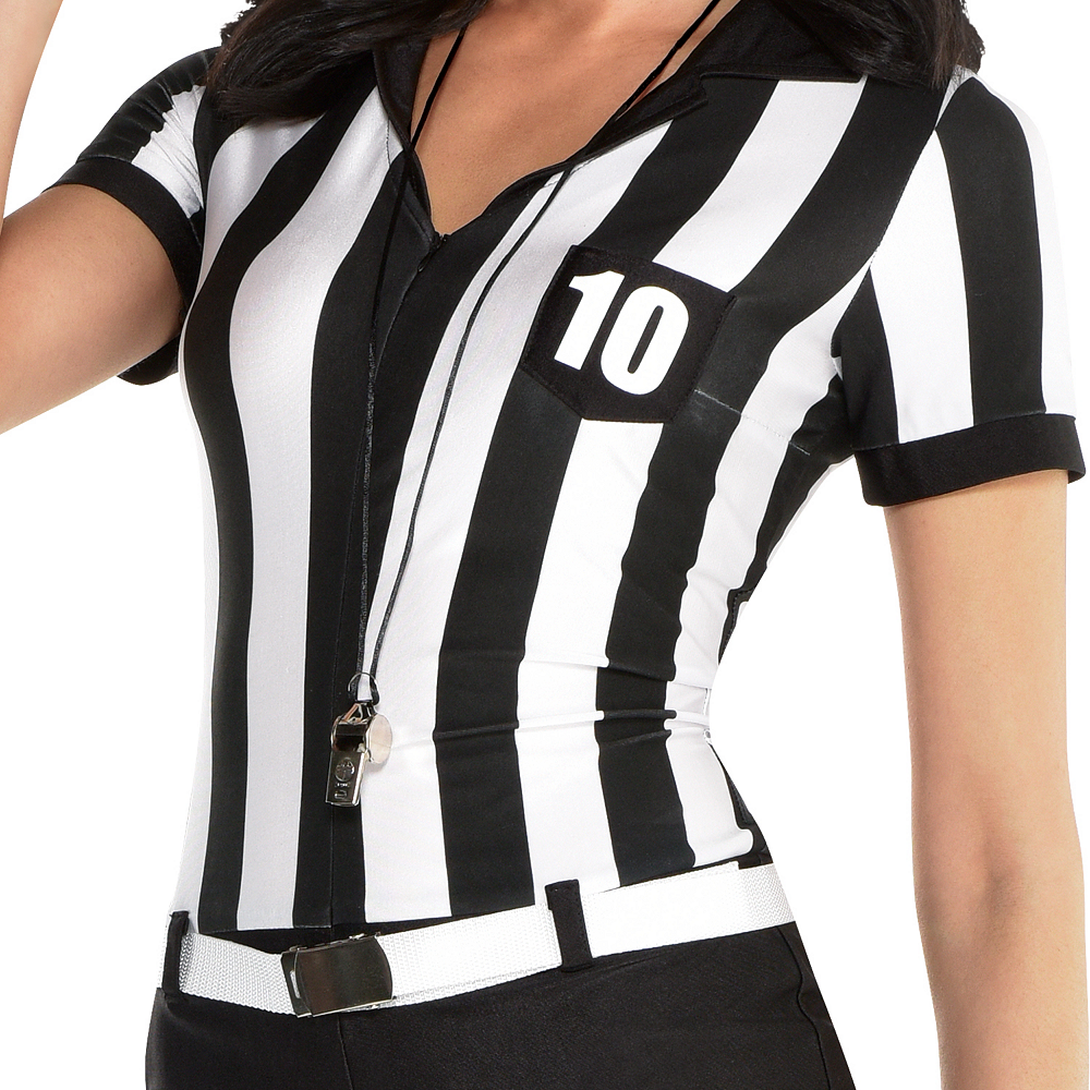 Nav Item for Womens Sexy Umpire Costume Image #3
