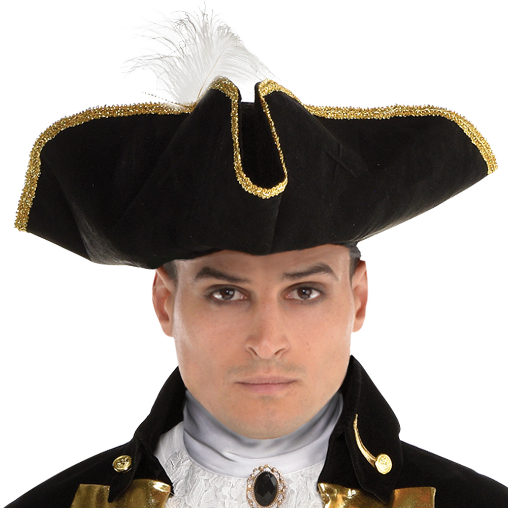 Mens Treasure Captain Pirate Costume Image #2