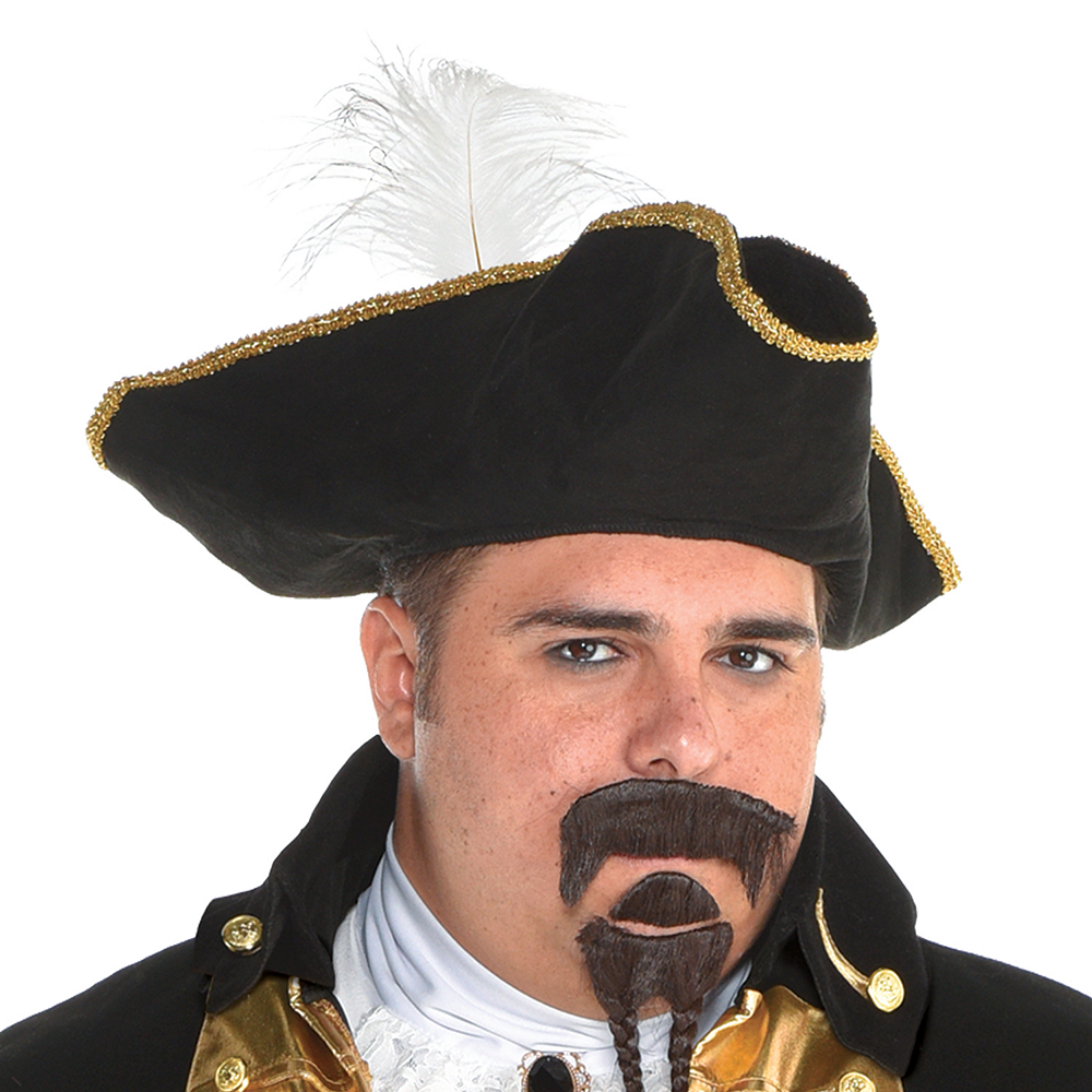 Mens Treasure Captain Pirate Costume Plus Size Image #2