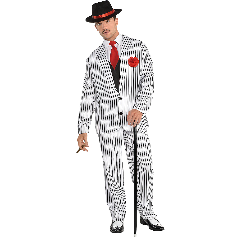 Mens Big Gangsta Costume Image #1