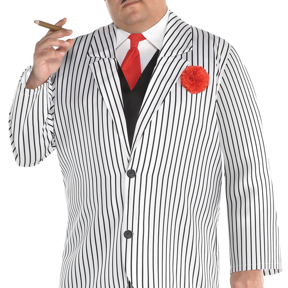 Mens Big Gangsta Costume Plus Size Image #2