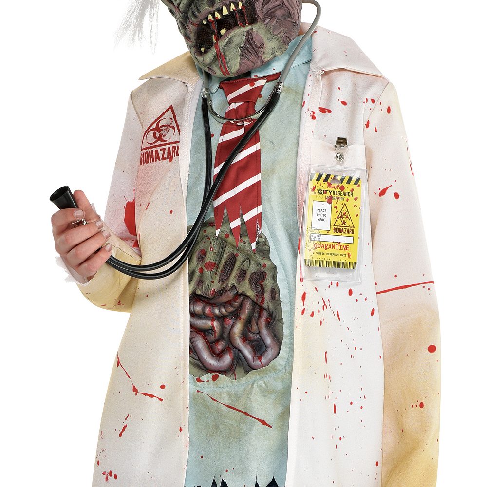 Boys Dr. Zombie Costume Image #3