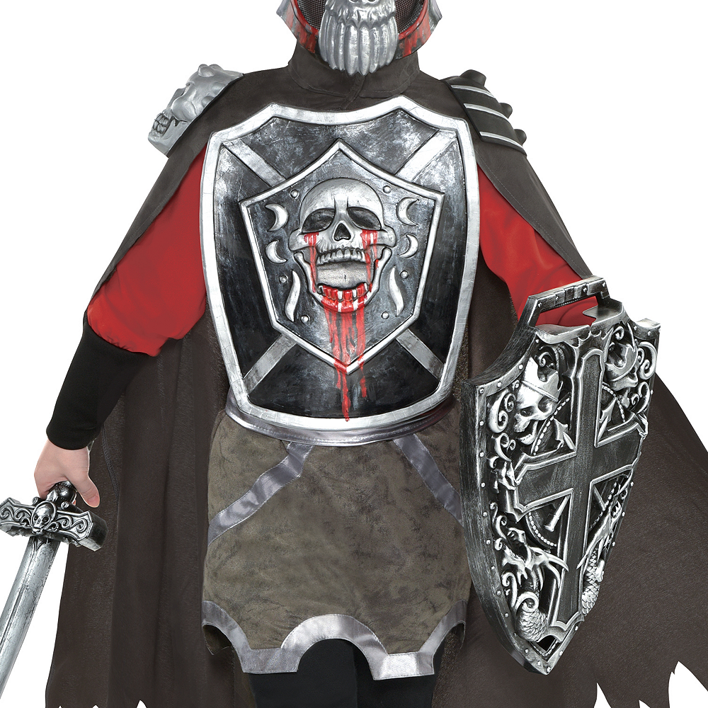Boys Deadly Knight Costume Image #3