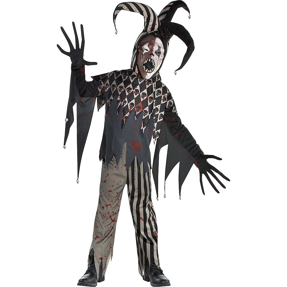Boys Twisted Jester Costume Image #1