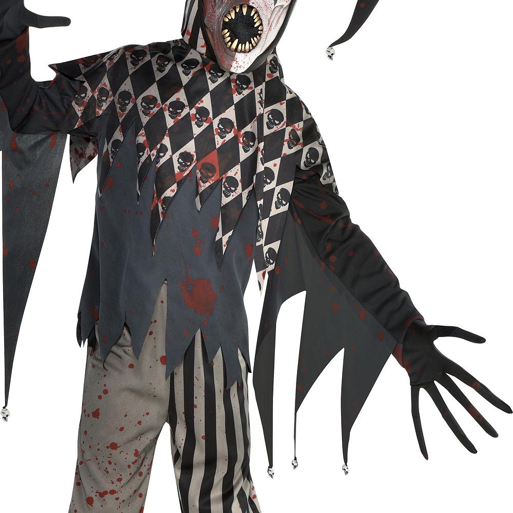 Boys Twisted Jester Costume Image #3
