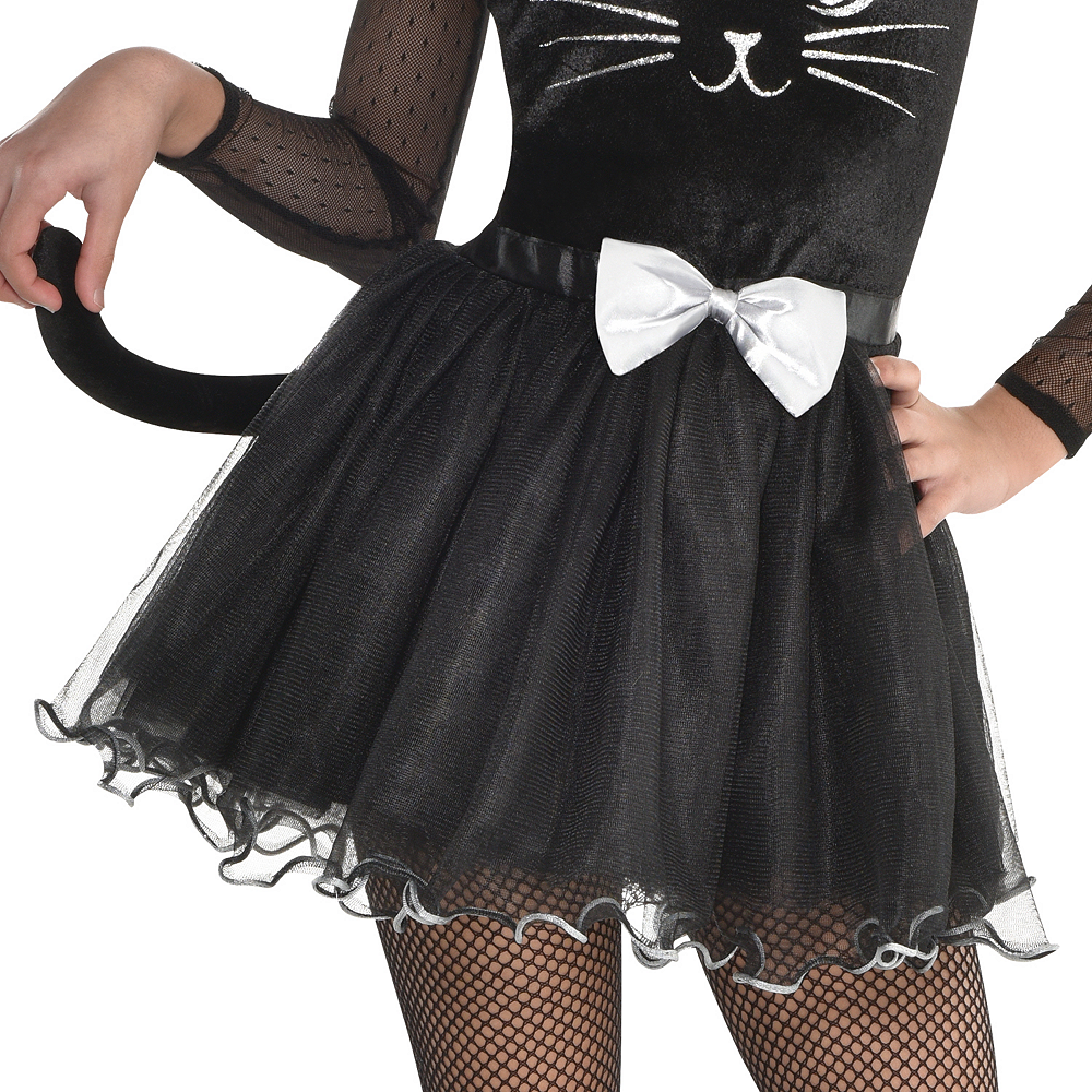 Girls Kitty Kat Costume Image #4