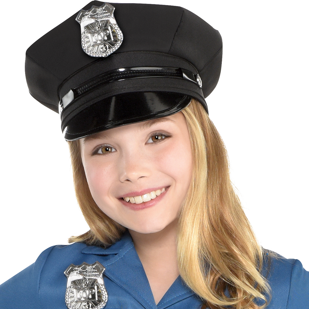 Girls Officer Cutie Cop Costume Image #2