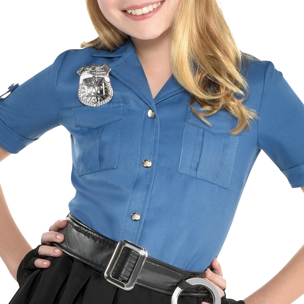 Girls Officer Cutie Cop Costume Image #3