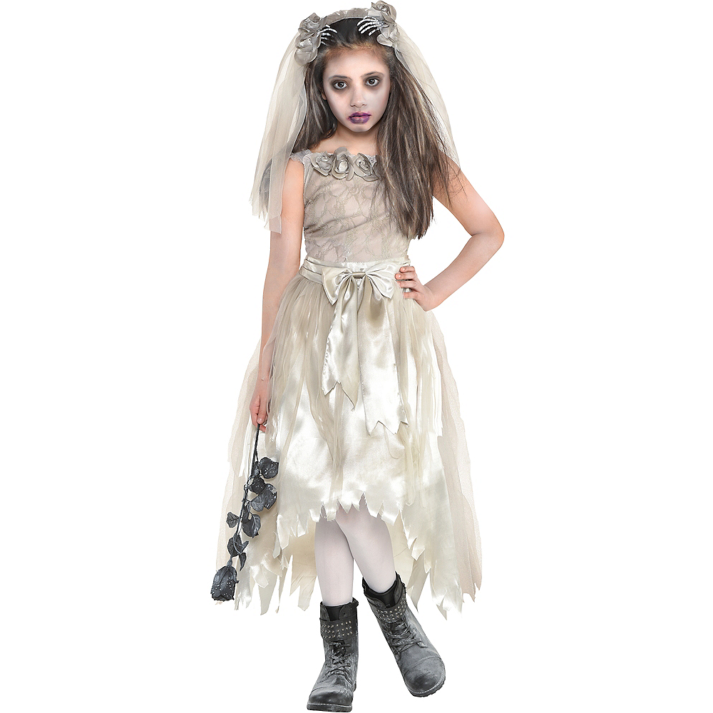 Girls Crypt Bride Costume Image #1