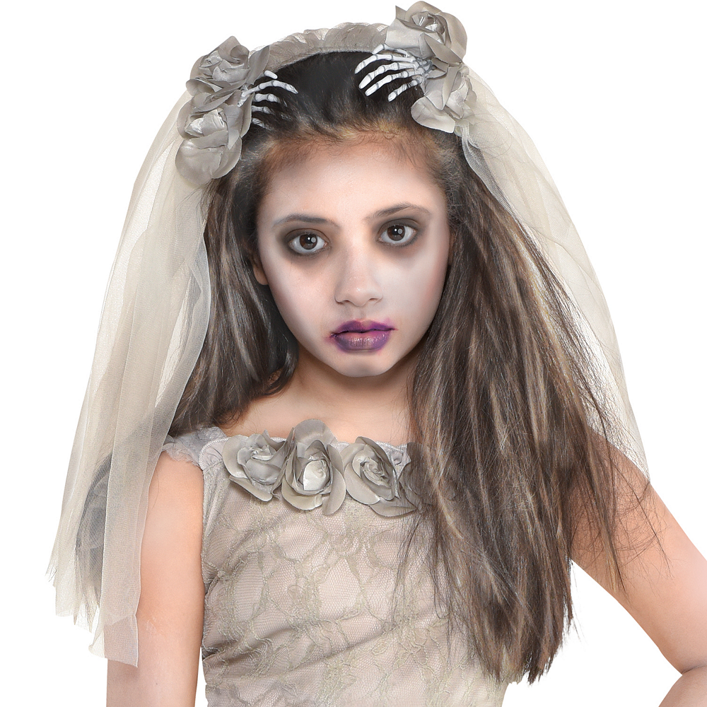 Girls Crypt Bride Costume Image #2