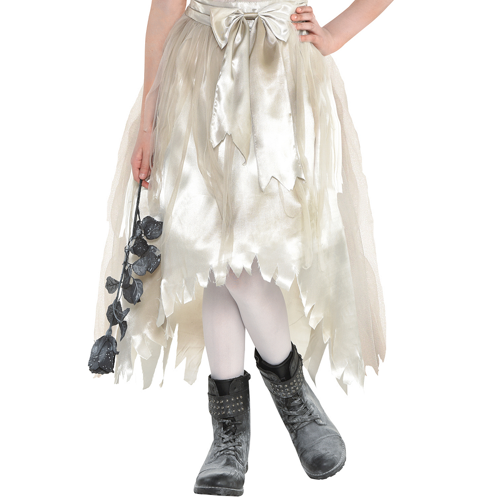 Nav Item for Girls Crypt Bride Costume Image #4