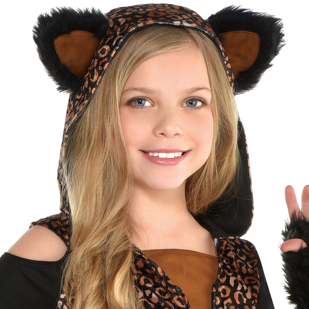 Girls Spot On Leopard Costume Image #2