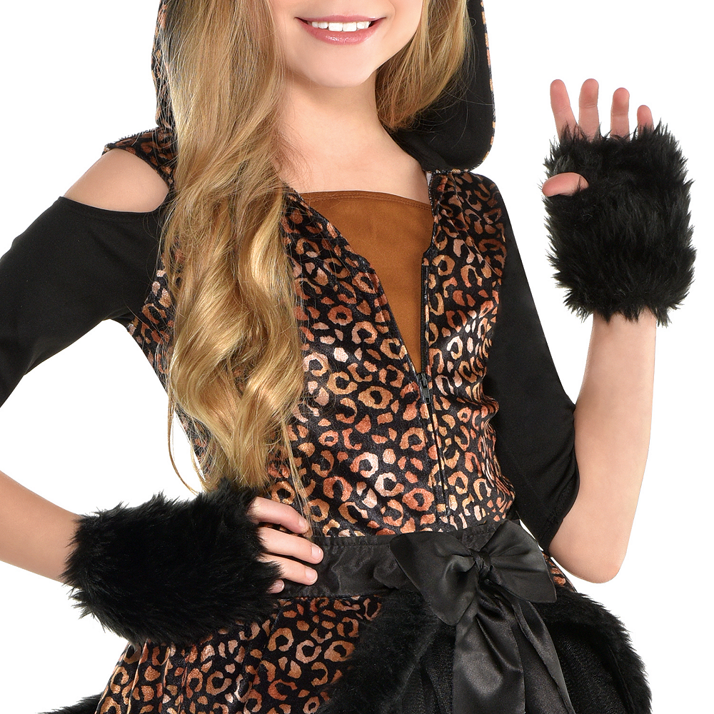 Girls Spot On Leopard Costume Image #3