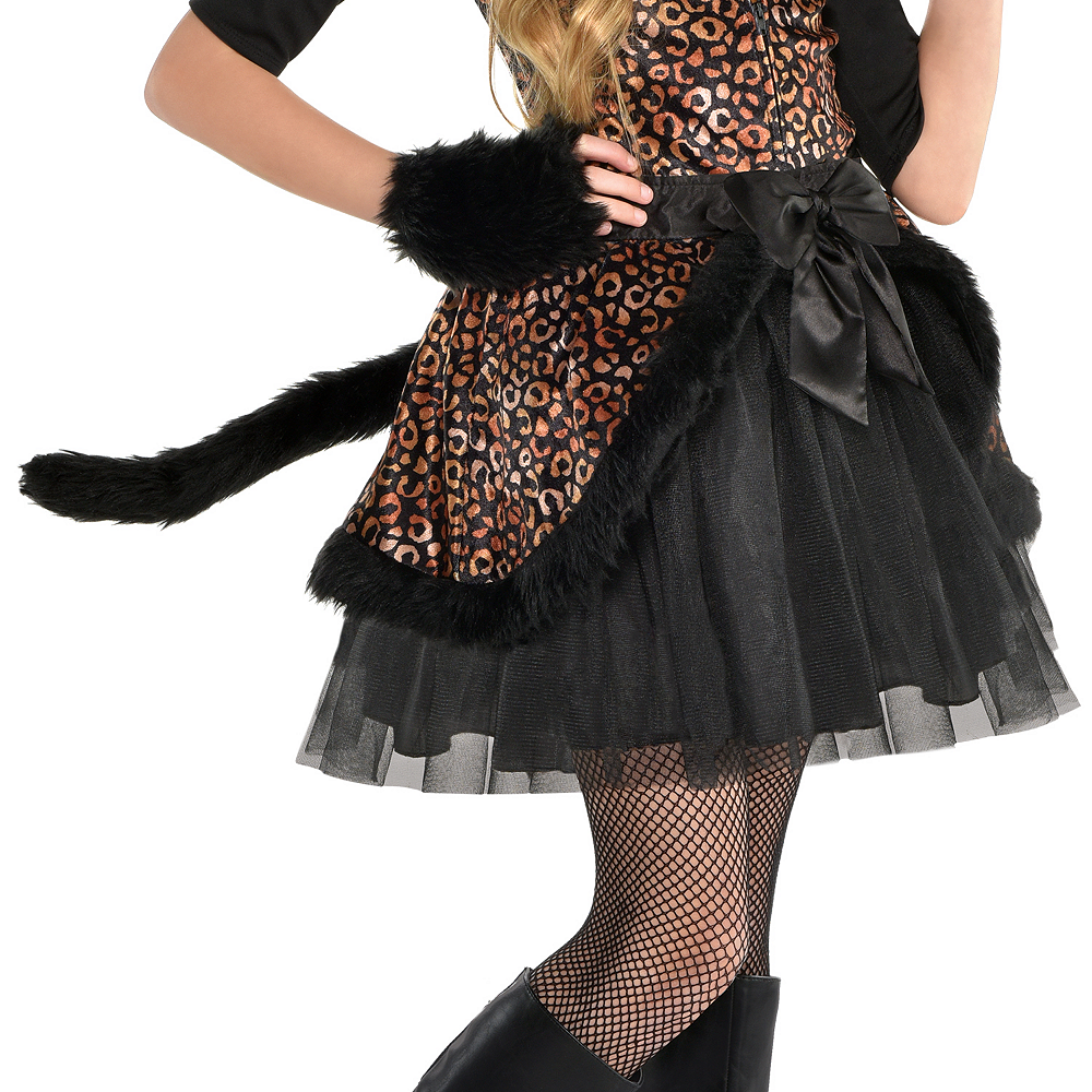 Girls Spot On Leopard Costume Image #4