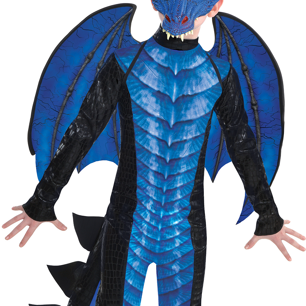Boys Deadly Dragon Costume Image #3