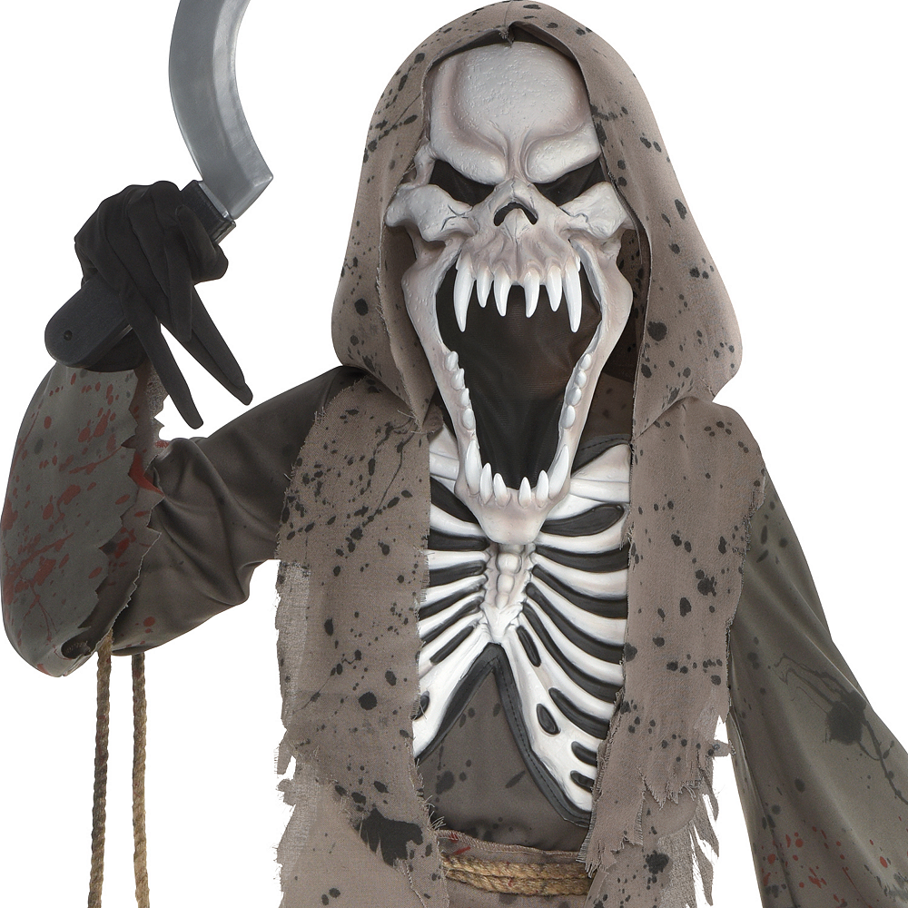 Boys Shrieking Reaper Costume Image #2